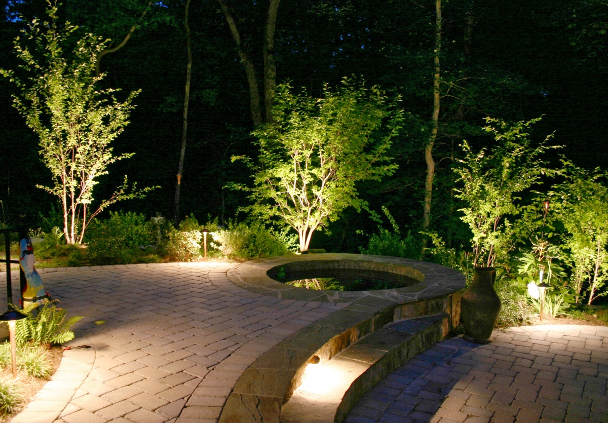 outdoor mood lighting
