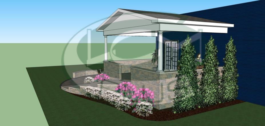 residential landscaping, Lynnfield, MA