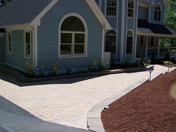 Versatile pavers for patios and walkways, Reading, MA