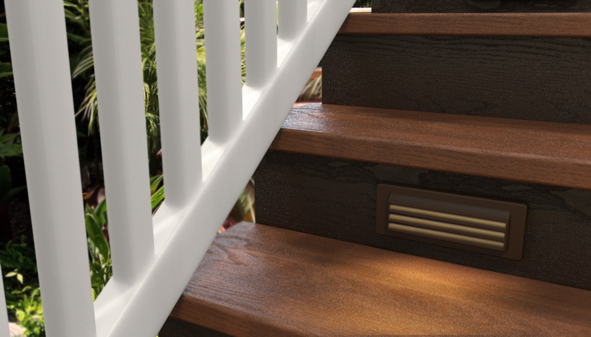 outdoor safety lights, step light