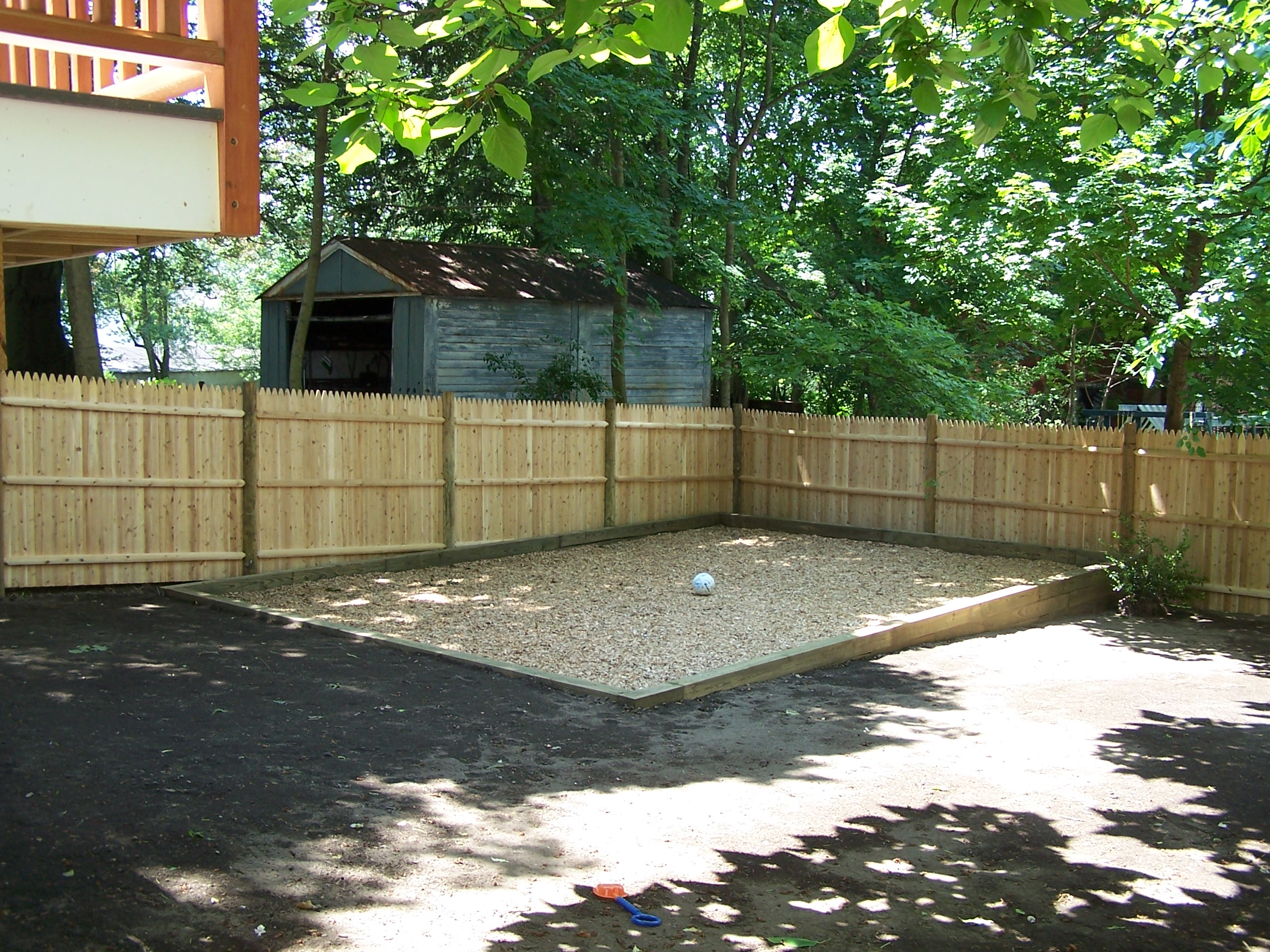 Cedar Privacy Fence, Andover, MA