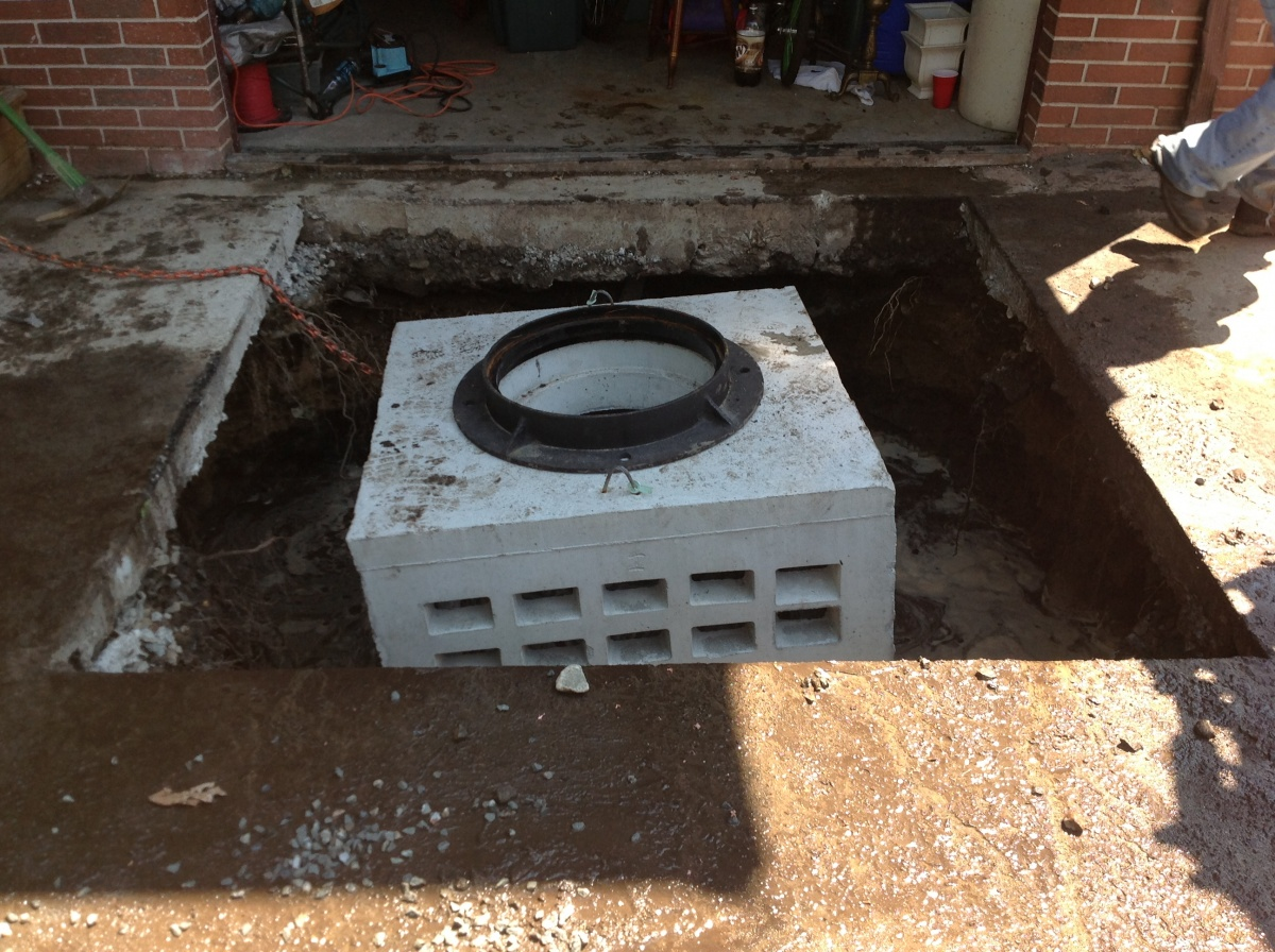 Drainage system design and installation, Melrose, MA