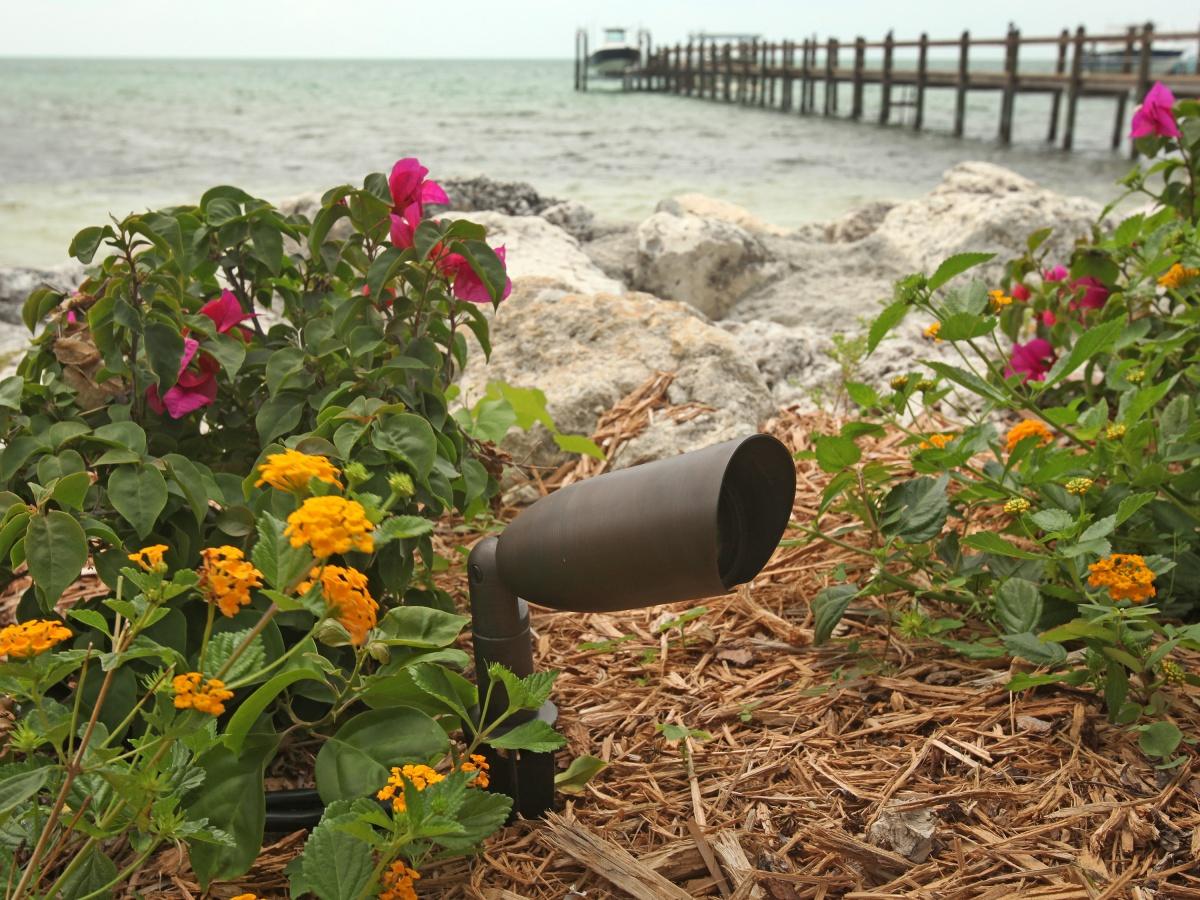 adjustable landscape lighting, outdoor bullet light
