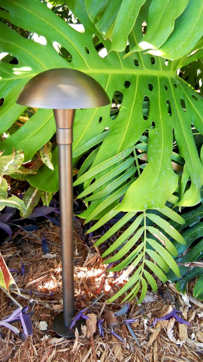 landscape lighting, mushroom Path Light