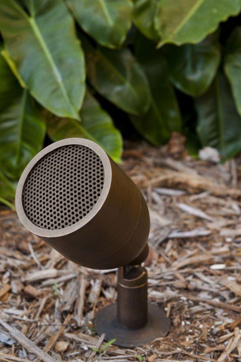 outdoor patio speaker, bullet speaker