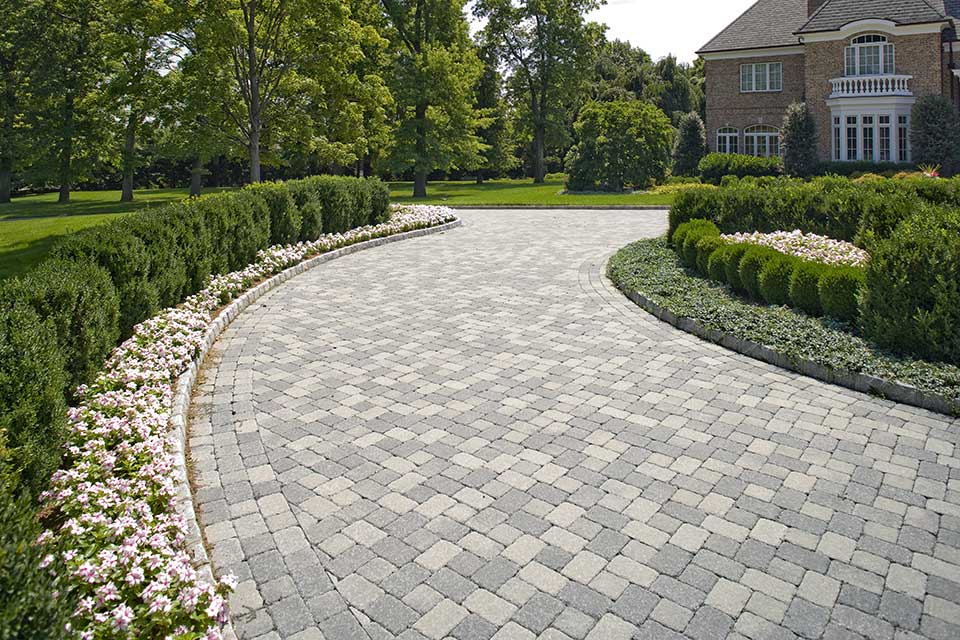block style pavers, Andover, MA