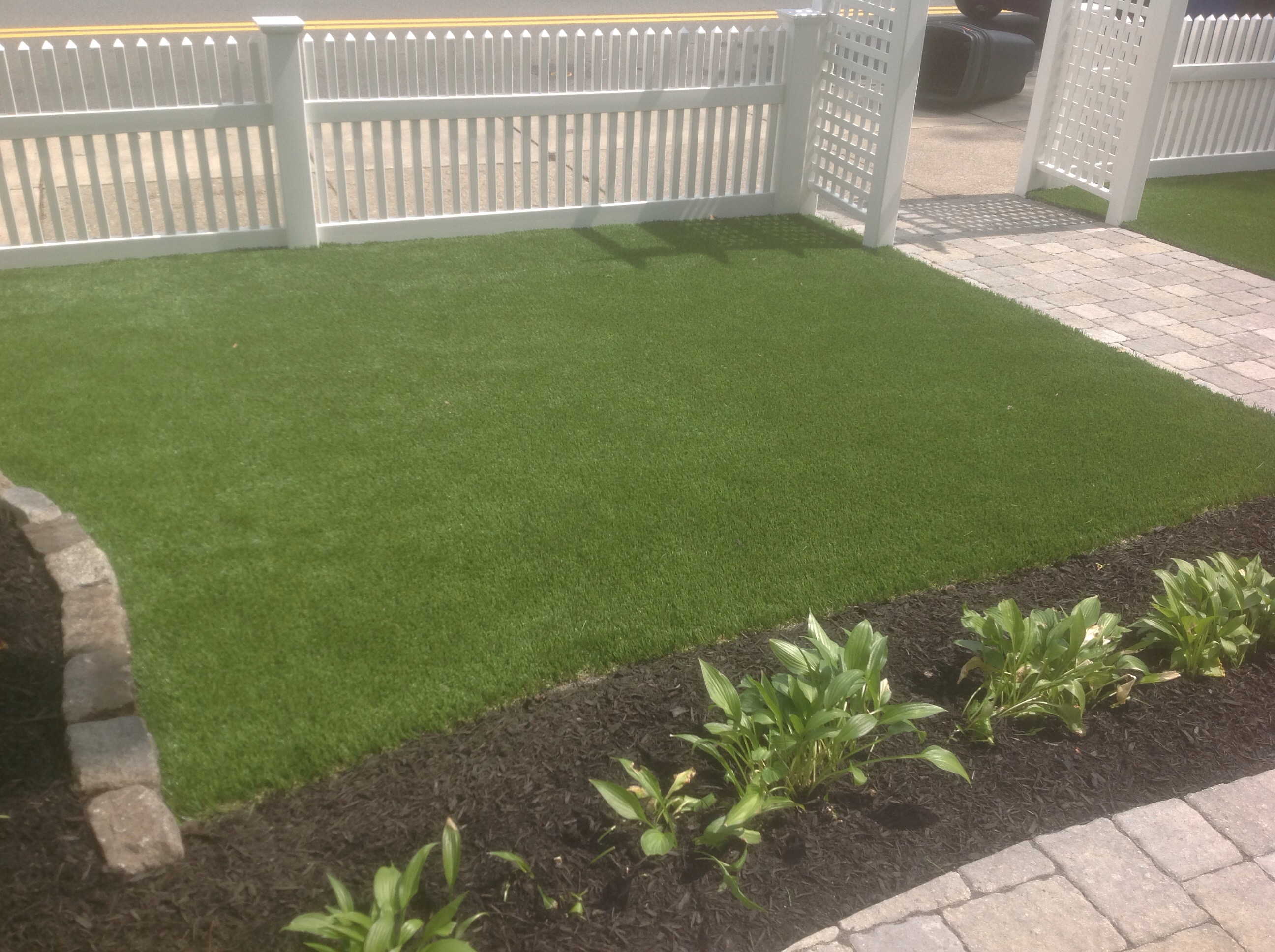 Synthetic grass is always green!