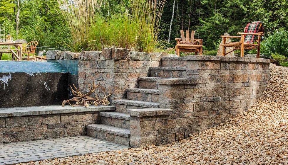 Mini Creta Wall & steps