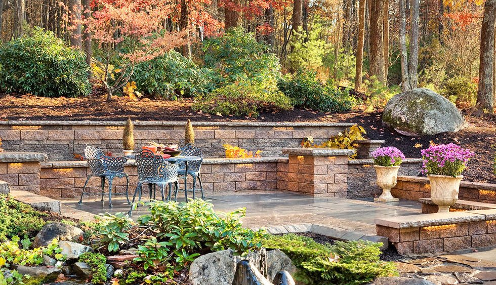 Garden and Retaining Walls Give personality to your landscape project, Reading, MA