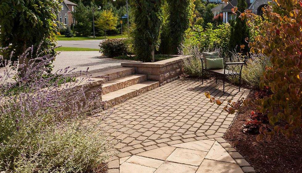 landscape pavers, hardscape design
