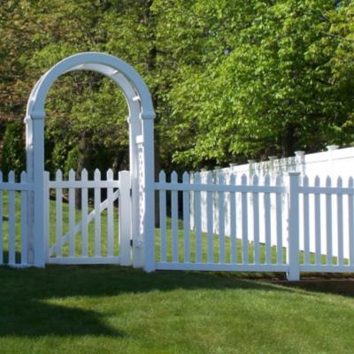 fence with Arbor