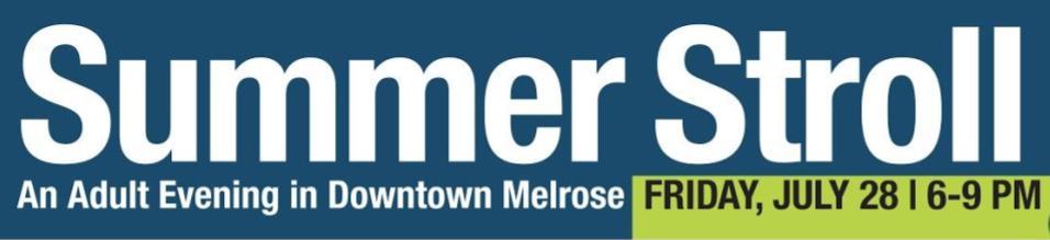 Melrose Summer Stroll 2017