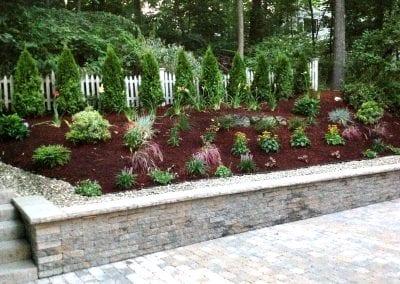 retaining wall, planter